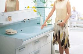 バスルームとトータルコーディネート